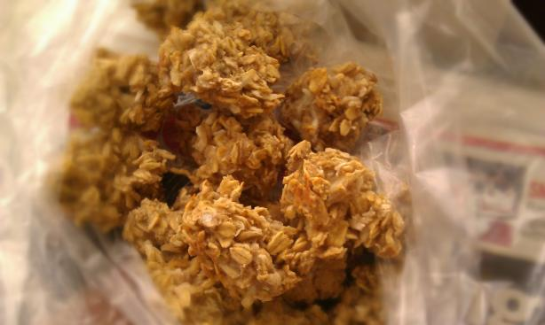 coconut clusters for dogs