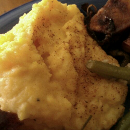 Old Fashioned Mashed Potatoes