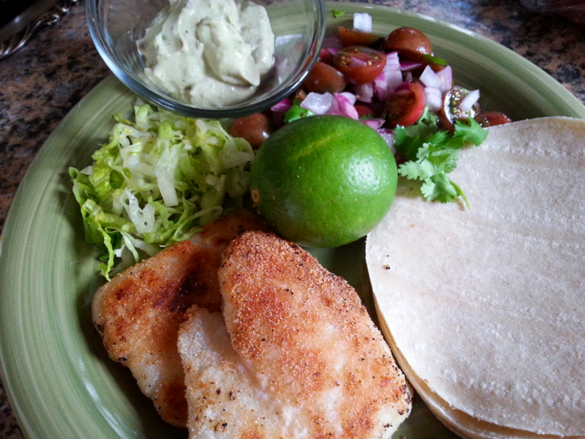 Cod halibut flounder etc threeovens for Flounder fish tacos
