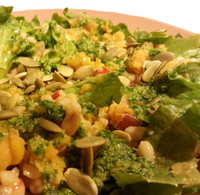 Yellow Split Pea Salad