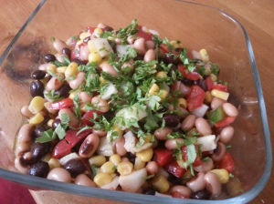 Bahamian Black Bean Salad