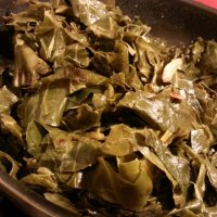 Calabrese Style Collard Greens