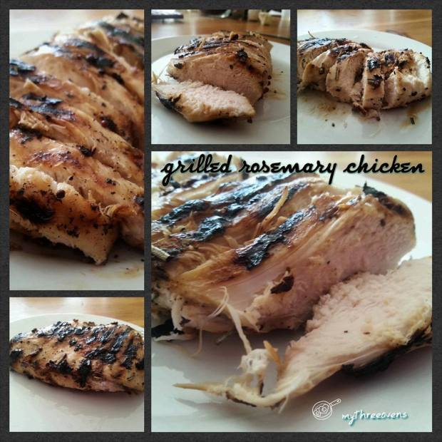 rosemary grilled chicken breasts