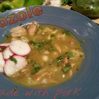 Pozole Verde with Only Pork