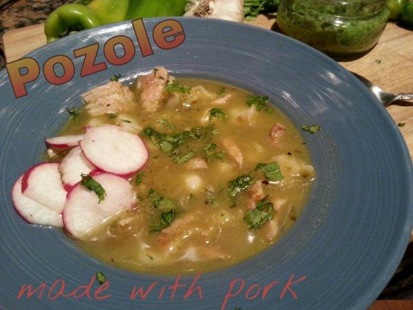 pozole with pork