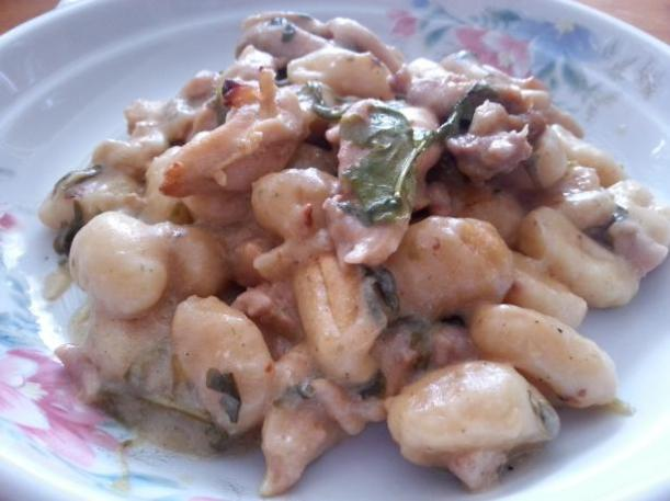 gnocchi with chicken