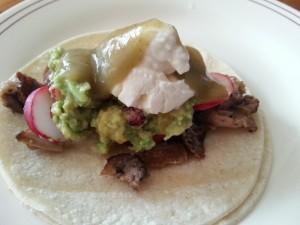 pork carnita taco