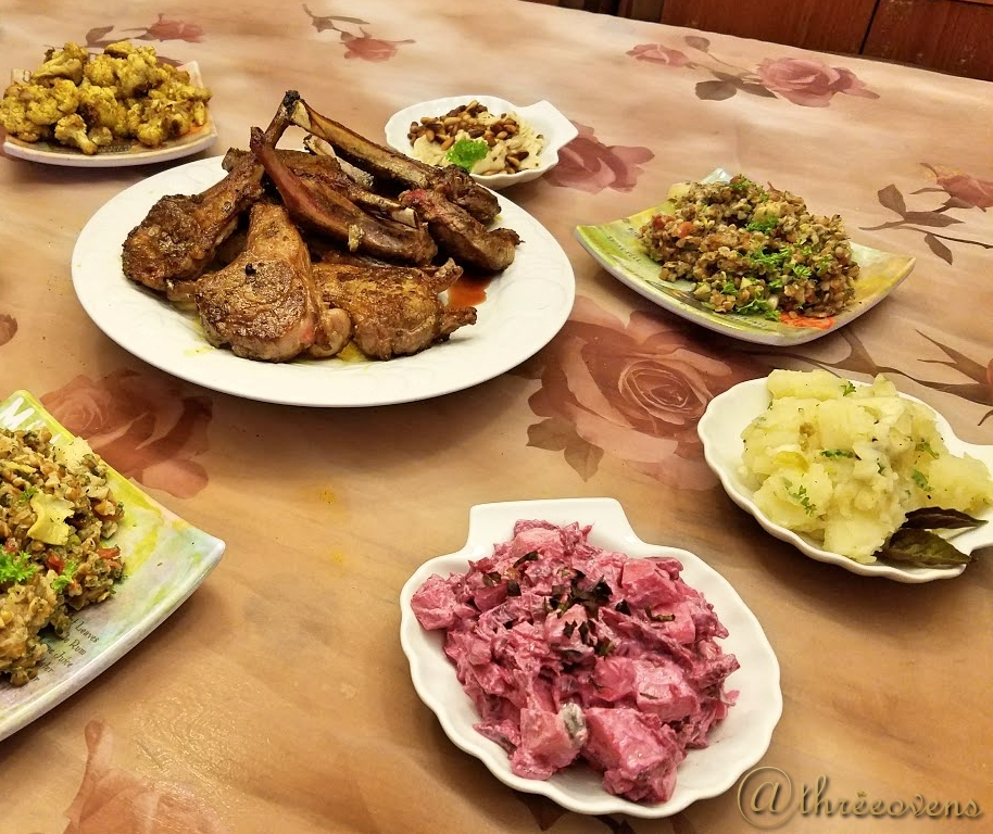 Traditional Turkish Meal